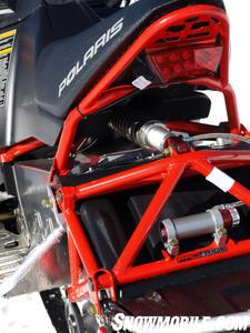 Pro-Ride's underseat shock location invites suspension tweaking.