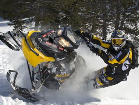 The Ski-Doo Summit comes in a special �hill climb� version for the serious highmarking crowd.