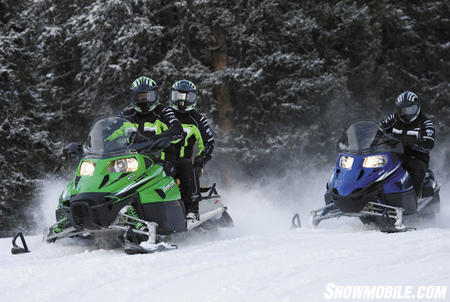 There�s a choice of 4-stroke or 2-stroke power for Bearcat models.