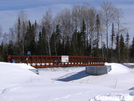 Northern Corridor bridge crossing.