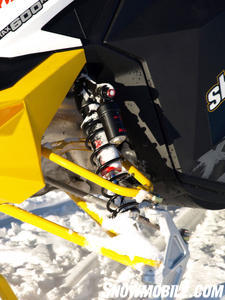 Fitted with KYB 40mm race shocks and lightened lower A-arm, the X-RS brings serious performance to the ditches.