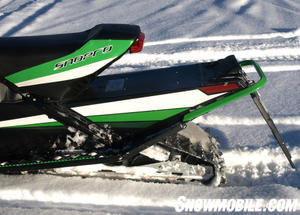 Arctic Cat's current slide rail design dates back to the 1967 Panther.