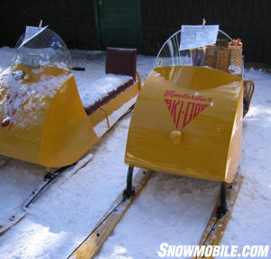The first Ski-Doo models turned snowmobiling from utility to recreation.