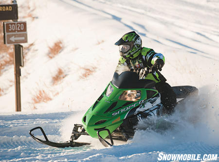 Arctic Cat adds exceptional ride to boosted power levels.