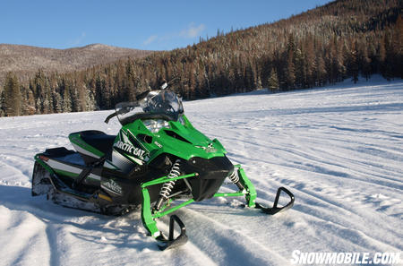 Arctic Cat is hoping that aggressive pricing will bring sales for the Sno Pro 500.