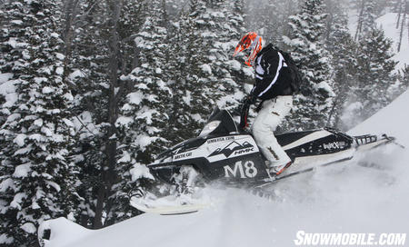 Most snowmobiles respond really well to lightweight components — such as exchanging steel for chrome-ally and titanium or even carbon fiber.  Snowmobiles don't come stock with a lot of these components because the cost of these snowmobiles would be out of reach for the average consumer.