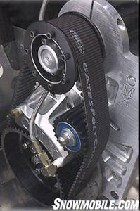 Crazy Mountain Extreme's belt Drive System. (Photo courtesy CMX)