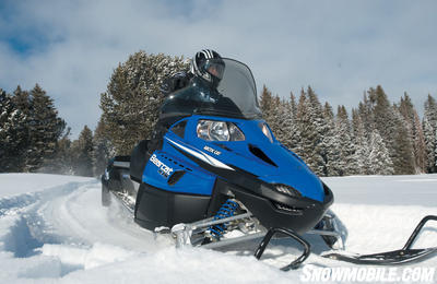New work sleds like the Bearcat add sport to their utility.