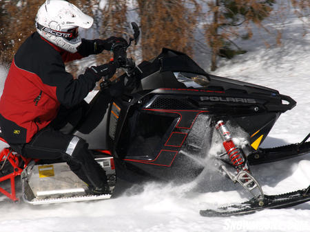 "Polaris expects the Rush to be a strong seller for ""action"" riders."