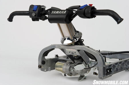 Snowmobile Pictures Snowmobile 2011 Yamaha Apex Steering