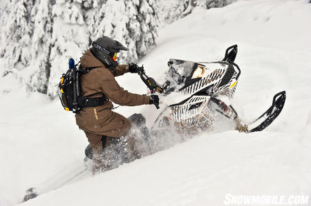 Ski-Doo adds serious changes to its �hot rod� backcountry model to make it a solid option for powder hounds.