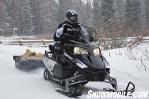 The Bearcat is Arctic Cat's version of a sport/utility vehicle.