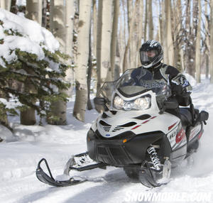 Polaris offers a variety of luxury touring options, including the Turbo IQ LXT.