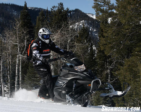 The Yamaha Nytro MTX was the most improved snowmobile for 2010.  Its weight savings, and the changes that made to the front and rear end were instantly noticed.