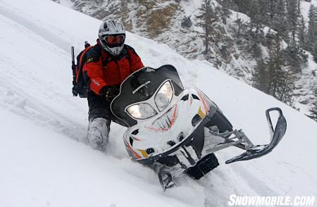 If you want to have the most torque available on the mountain, then the M1000 is your ride.