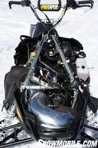 The over-structure that Polaris used on the RMK is said to have 300% more torsional rigidity.