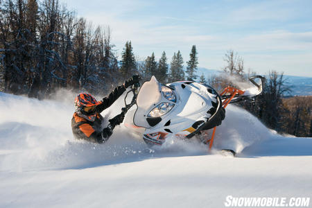 2011 Arctic Cat M8 SnoPro 153 Action01
