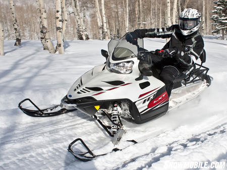 Polaris engineered the 2011 550 IQ LXT to provide sporty solo action and cruiser comfort for two in the same package.