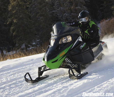 "Our choice for long distance ""miler"" is Arctic Cat's F70 built around the new IRP chassis."