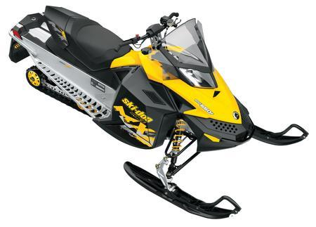 The Ski-Doo MXZ Sport 550F blends Rev-XP balance with an engine that has a decades old heritage.