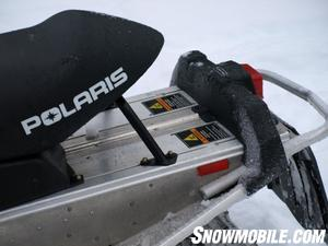 Polaris' Freestyle seat suits aggressive riders.