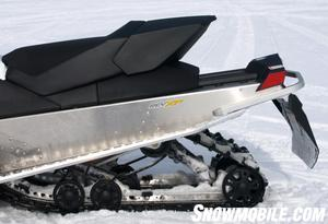 Modern angular styling makes the Ski-Doo a standout.
