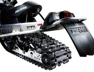 The 13-inch track with 1.25-ich profile lugs will satisfy out of bounds riders and offer some deep powder capabilities.