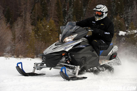 Yamaha's Vector GT is one of the best trail-capable sleds on the market for 2011.