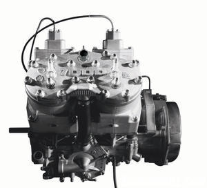 Cat�s one-liter two-stroke is designed for torque and one pull on the throttle tells you it�s �mission accomplished.�