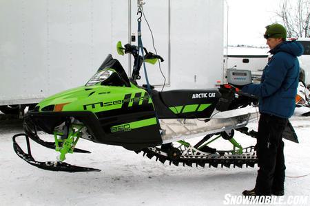 2011 Arctic Cat M8 Sno Pro Limited 153