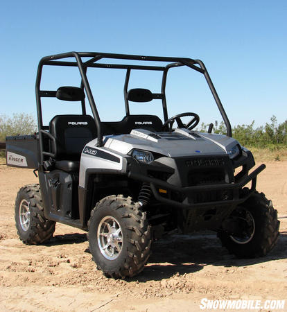 The Polaris Ranger HD was designed for users needing serious hauling capabilities.