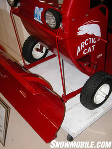 Arctic Cat 50th Anniversary - 1964 Model 250 Plow