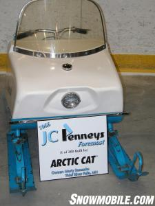 Arctic Cat 50th Anniversary - 1966 JC Penney sled