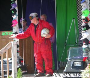 Arctic Cat 50th Anniversary - Skime models early suit