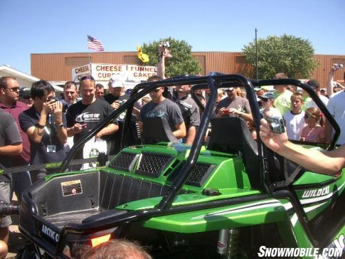 Arctic Cat 50th Anniversary - Wldcat draws crowd