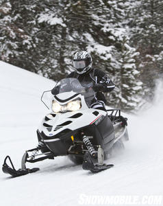 2012 Polaris 550 IQ Shift 136