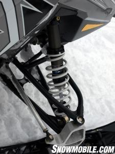 2012 Polaris Rush 600 Front Suspension