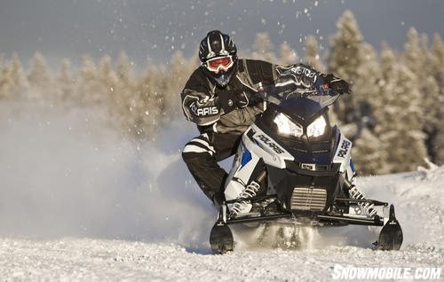 2012 Polaris Rush Cornering