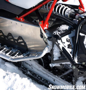 2012 Polaris Rush 600 Pro Ride Rear Suspension
