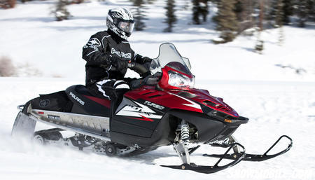 2012 Polaris Turbo IQ LX Action Right Side