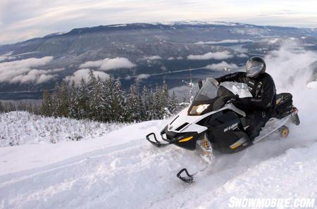 2012 Ski-Doo GSX LE 600 action berm