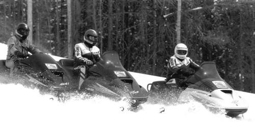 Ski-Doo Formula Models