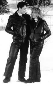 Ski-Doo Leather Suit