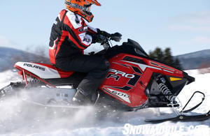 2012 Polaris Rush Pro-R Action
