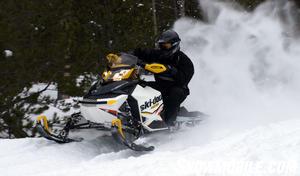 2012 Ski-Doo MXZ TNT E-TEC Action