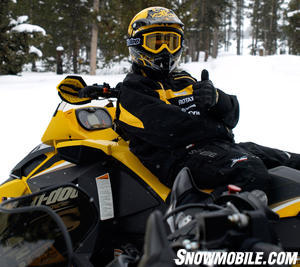 2012 Ski-Doo MXZ TNT E-TEC Thumbs Up