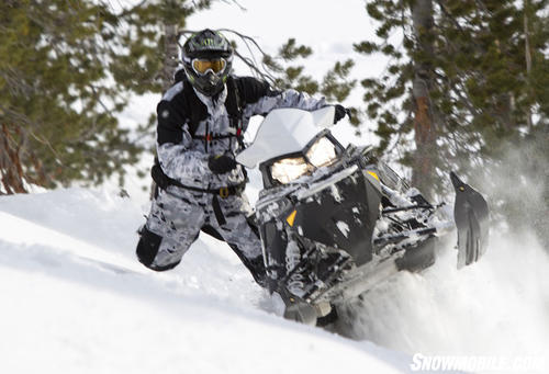 2013 Polaris 800-Pro-RMK 155 Sidehilling