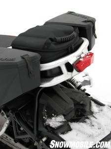 2012 Polaris 800 Switchback Pro-R cargo rack