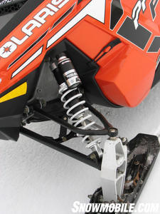 2012 Polaris 800 Switchback Pro-R Walker Evans front shocks