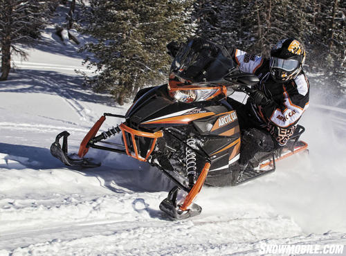 2013 Arctic Cat XF1000 Cross Tour Action